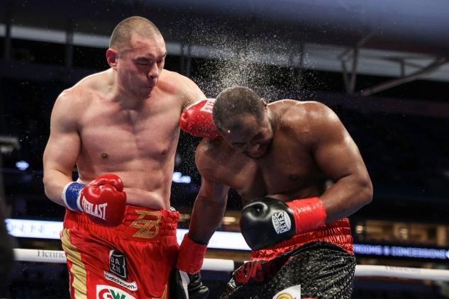Zhang vs. Forrest / zdroj foto: Matchroom Boxing
