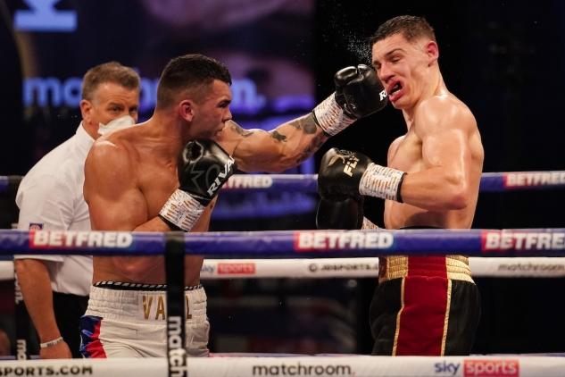 Billam-Smith vs. Ducár / zdroj foto: Matchroom Boxing