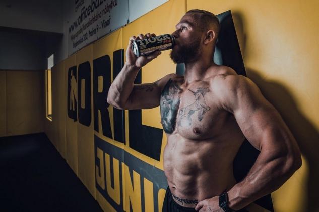 Tkadlčík v Gorila MMA / zdroj foto: IG Tkadlčík