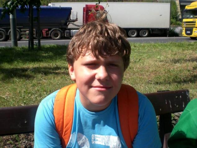Dvanáctiletý Tomáš Šálek / zdroj foto: archiv Tomáše Šálka