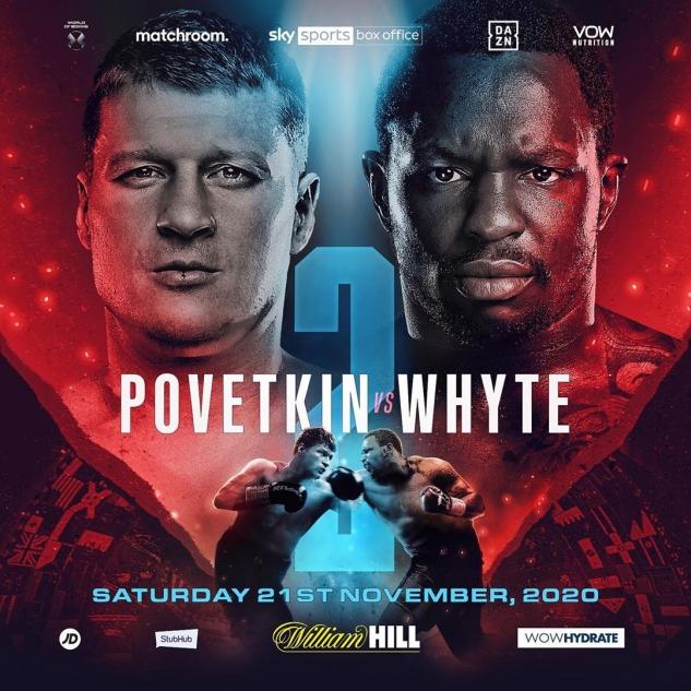 Povetkin vs. Whyte 2 poster