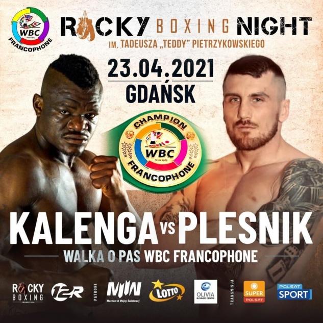 Kalenga vs. Plesnik - oficiální plakát