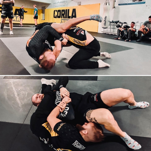 Tkadlčík na MMA / zdroj foto: IG Tkadlčík